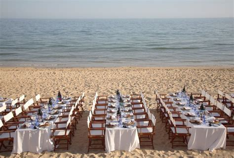 Beach wedding reception Albufeira wedding venue by Algarve