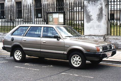 Subaru Leone I Station Wagon 1800 Super 4wd Am Aj 82 Hp