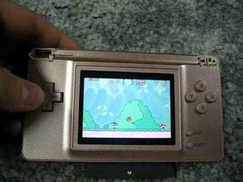 gameboy color frontlight mod without sp the ultimate gba youtube