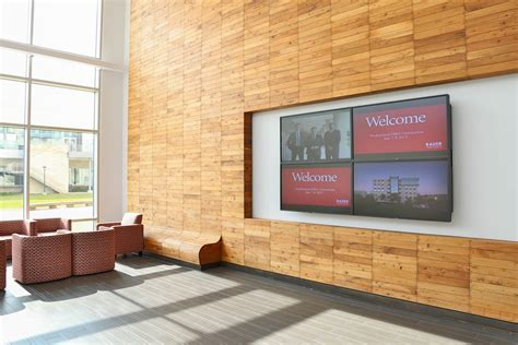 video wall layout digital signage policies