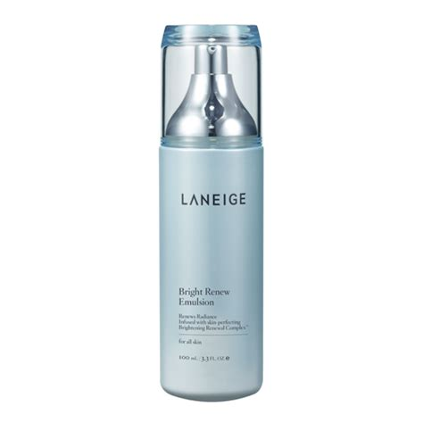 Emulsion Laneige skincare brightening bright renew original