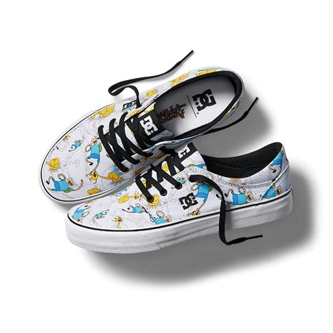 shoe time dc x adventure time collection dc shoes