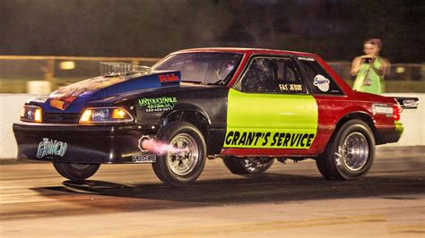 fox mustang dragtimes drag racing fast cars