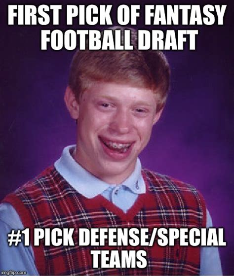 Fantasy Football Draft Meme - fantasy football draft meme