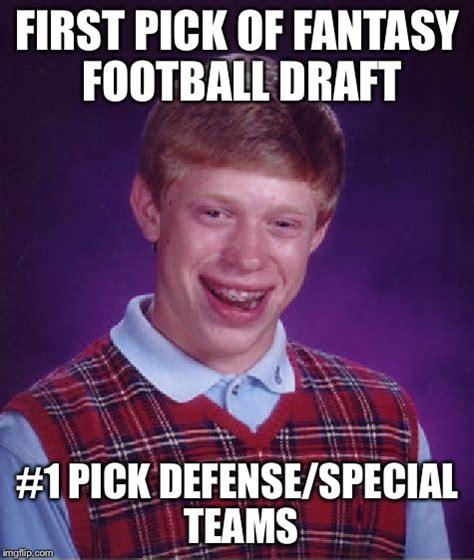 Fantasy Football Meme - fantasy football draft meme