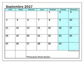 Calendrier 7 Septembre Calendrier Septembre 2017 59ld