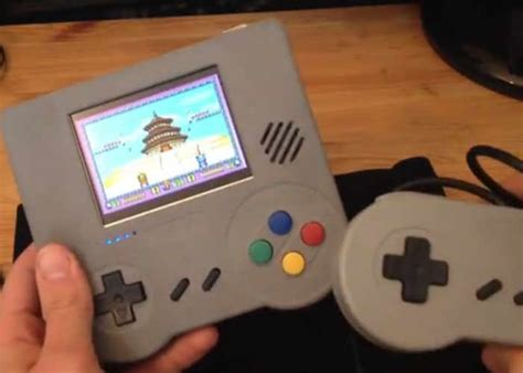 handheld console emulator raspberry pi handheld emulation console kit hits