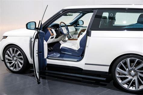 range rover coupe interior range rover sv coupe pictures specs prices