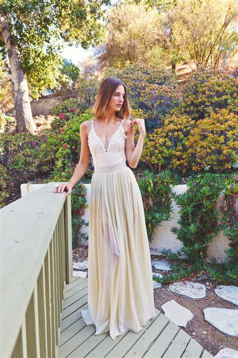 Boho Wedding Dress by 2 Wedding Dress Bohemian Wedding Dresses