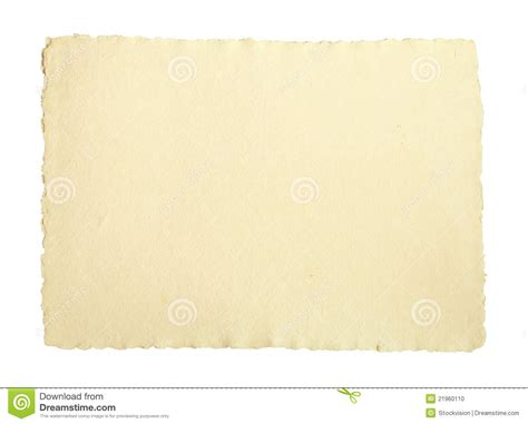 Handmade Drawing Paper - handmade paper stock photo image 21960110