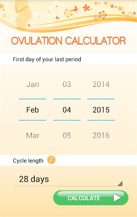 the best ovulation calculator ovulation calculator android apps on play