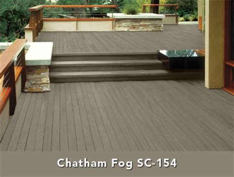behr solid color wood stain chatham fog pretty  deck
