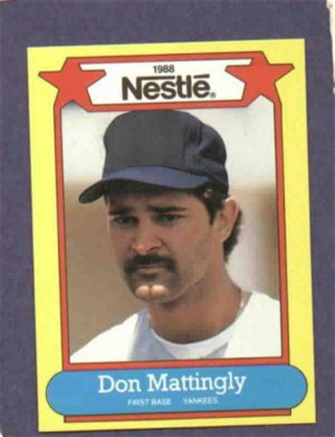 Don Mattingly Card Value by 1988 Nestle Don Mattingly Oddball Baseball Card New York