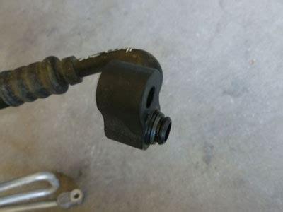 1997 bmw 528i e39 ac air conditioner pressure hose compressor to condenser 64538370726