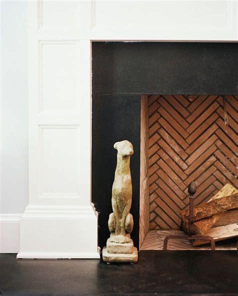 Herringbone Fireplace by Pattern We Herringbone Herringbone Bricks And