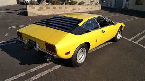 Lamborghini Urraco P250 For Sale 1975 Lamborghini Urraco P250 Coupe For Sale 86950