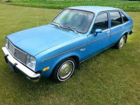 always a bridesmaid 1980 chevrolet chevette