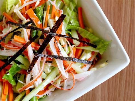 make a how to make a kani salad 7 steps with pictures wikihow