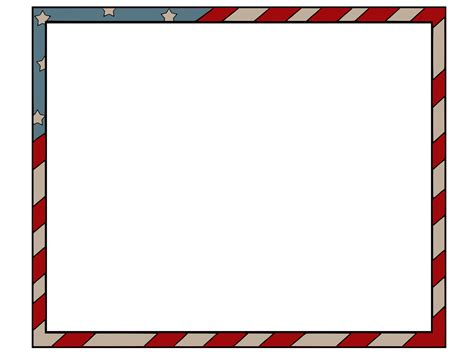 American Border Frame Backgrounds Presnetation Ppt Border Templates For Powerpoint