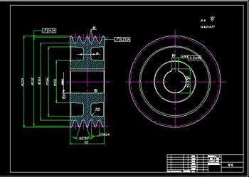 Building Plans Images Pulley 2 Cad Drawings Free Download Autocad Blocks Cad