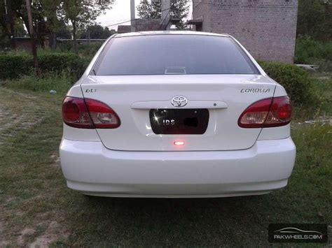 Toyota Corolla 2002 For Sale Used Toyota Corolla Gli 2002 Car For Sale In Jhelum