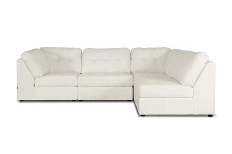 modular leather sectional sofa new white or brown modern leather modular sectional