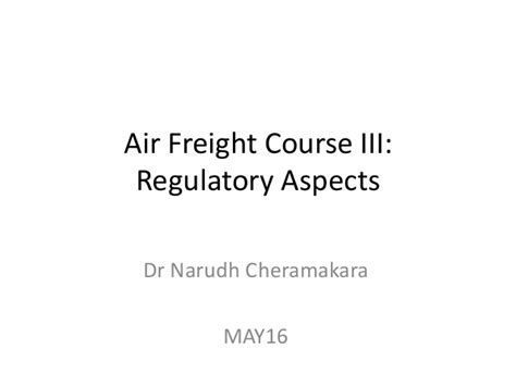 air freight course 3