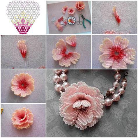 Diy Handmade Flowers - creative ideas diy beautiful small beaded flowers