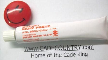 Suzuki Moly Paste Moly Paste 99000 25140 12 99 Welcome To The Cade