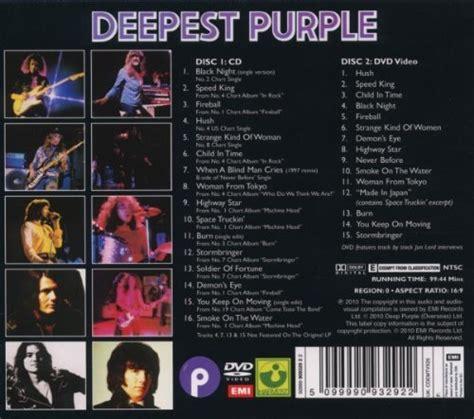 purple the best purple quot deepest purple the best of quot