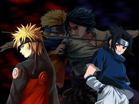 new wallpapers anime wallpaper vs sasuke