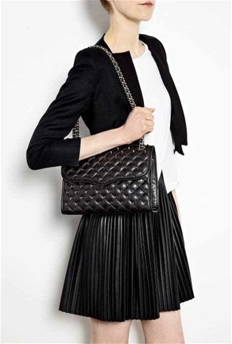 Minkoff Quilted Affair minkoff black quilted stud affair shoulder bag in