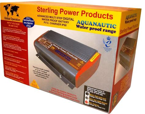marine battery charger waterproof waterproof marine battery charger sterling power usa