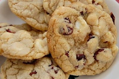 Link Brandied Cranberry White Chocolate Chip Cookies by Grocery List Tip White Chocolate Cranberry Cookies