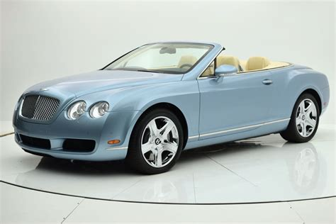 bentley finance department 2007 bentley continental gt convertible