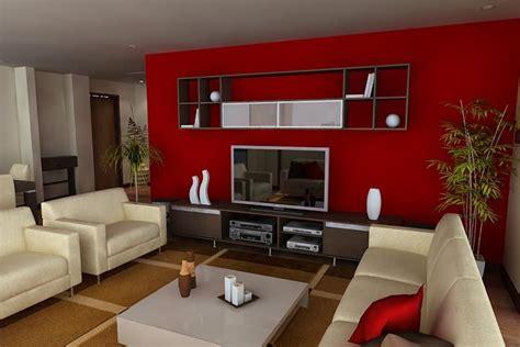 sala comedor  detalles rojos diseno interiores en
