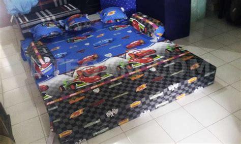 Sofa Bed Motif Karakter sofa bed inoac untuk anak motif karakter kartun cars3