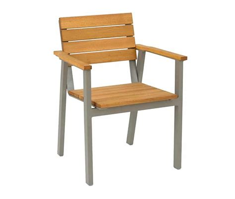 Contract Furniture Company by Premium Outdoor Armchair In And Distressed Teak Wood