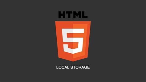 ionic local storage tutorial html5 local storage tutorial cookies replacement youtube