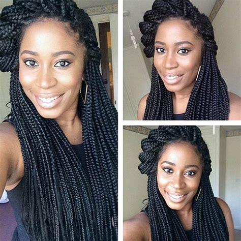 Wedding Hairstyles With Box Braids by 20 Stunning Box Braids Hairstyles Box Braids Inspiration