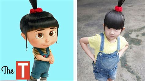 cutting my sons hair changed his personality 10 despicable me characters in real life youtube