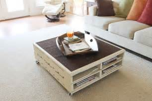 table basse en palette 50 id 233 es originales