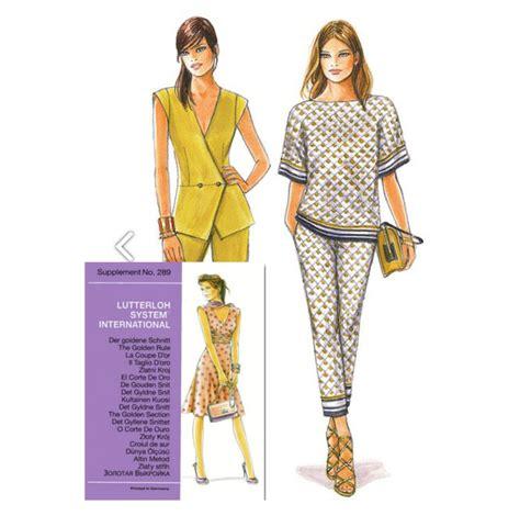 patron de couture magazine n 176 289 la coupe d or