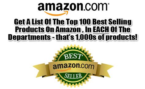 top seller on amazon fiverr gig give you a current list of the top 100 amazon