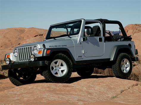 With Jeeps Jeep Wrangler 2005 Jeep Wrangler 2005 Photo 07 Car In