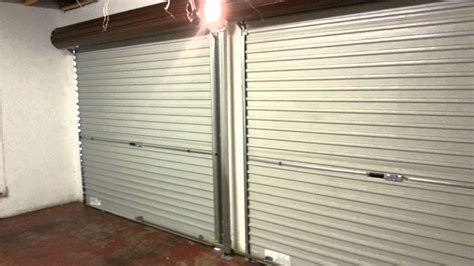 Roll Up Door Vs Overhead Door Steel Roll Up Garage Door Automated