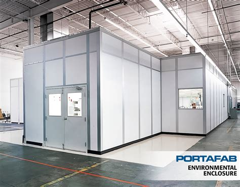 modular clean room portafab modular building cleanrooms environmental enclosures