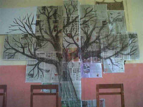 membuat pohon natal dari ranting cara membuat hiasan dinding untuk ruang tamu bikin