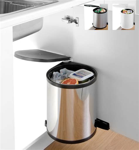 kitchen cabinet bins kitchen waste bins round cabinet bins from wesco ebay