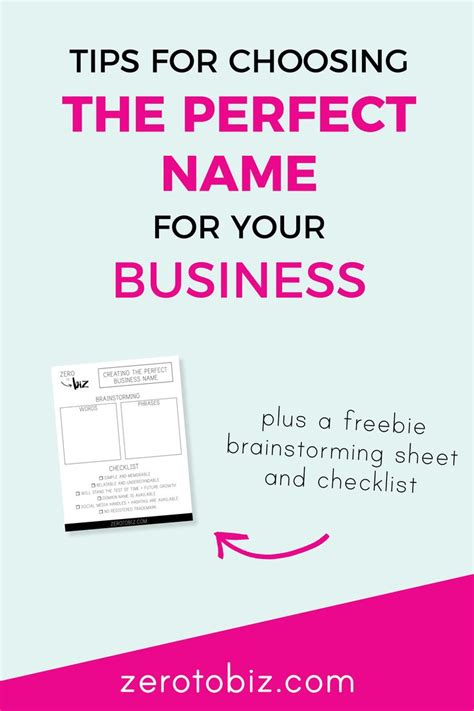 how to pick a name for your business best 25 business names ideas on pinterest naming your